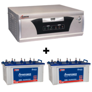 EB 1600 VA Home UPS and 2 pcs MtekPower EB 1800