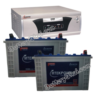 EB 1600 VA Home UPS and 2pcs MtekPower EB 1800TT
