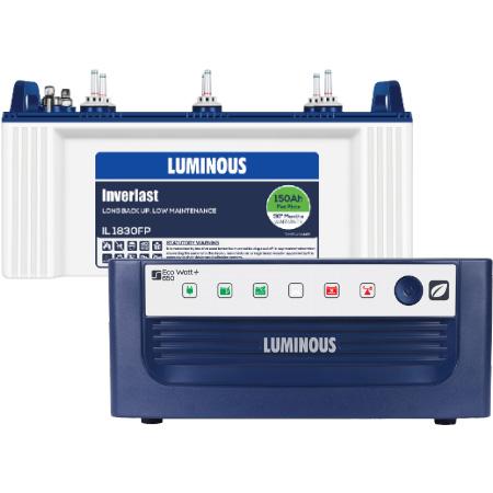 Eco Watt 650 Home UPS and Luminous IL1830FP