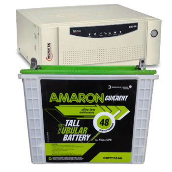 Combo-Microtek SEBz 900 VA Home UPS and Amaron AAM-CR-CRTT150