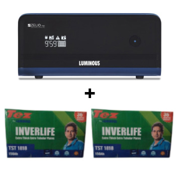 Zelio 1700 Home UPS and 2pcs Luminous TEZ TST 1818