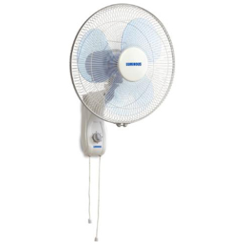 Luminous Mojo Plus 400 mm / 1350 RPM Wall Fan Blue