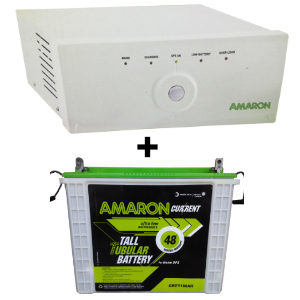 880 Sine Wave UPS and Amaron AAM-CR-CRTT180