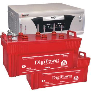 Combo Microtek EB 1600 VA Home UPS and 2pcs DigiPower DP 850