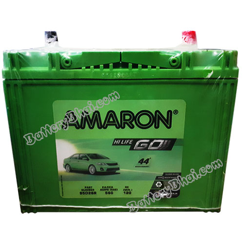 Amaron AAM-GO-00095D26R Car Battery at Best Price, Buy