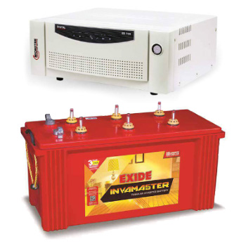 Combo-Microtek EB 700 Home UPS and Exide InvaMaster IMST1500
