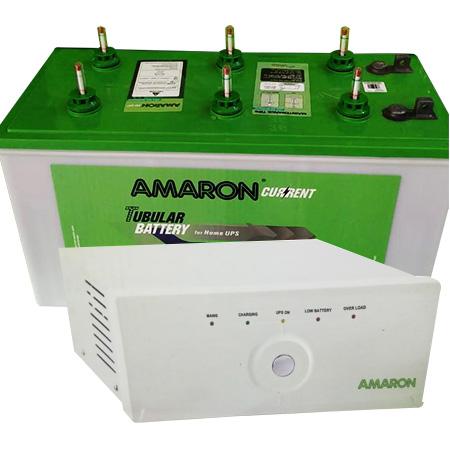 880 Sine Wave UPS and Amaron AAM-CR-AR135ST36