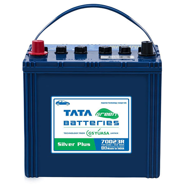 Tata Green 70D23R Silver Plus