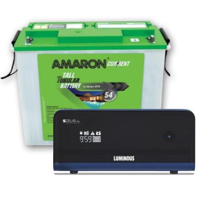 Zelio+ 1100 Home UPS and Amaron AAM-CR-AR150TN54
