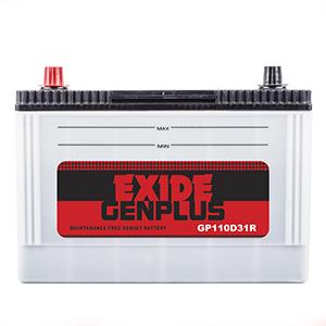 Exide Genplus GP110D31R