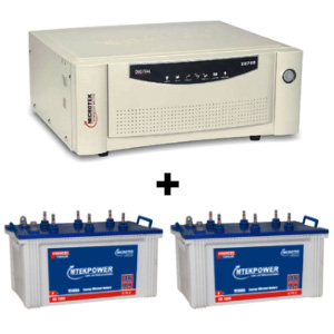 SEBz 2000 VA Home UPS and 2 pcs MtekPower EB 1800