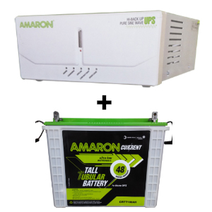 675 Sine Wave UPS and Amaron AAM-CR-CRTT180