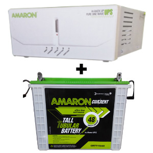 675 Sine Wave UPS and Amaron AAM-CR-CRTT150