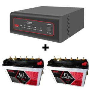 XTATIC 1450VA Home UPS and 2pcs Exide EL Master 150
