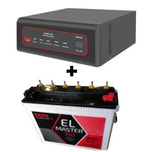 XTATIC 650VA Home UPS and Exide EL Master 150