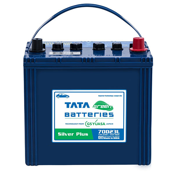 Tata Green 70D23L Silver Plus
