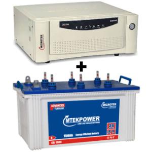 SEBz 900 VA Home UPS and MtekPower EB 1800