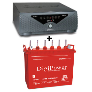 24x7 Hybrid 725 VA Home UPS and DigiPower DT 658