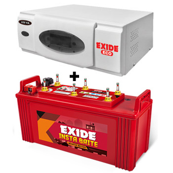 ECO 700VA Home UPS and Exide Insta Brite IB1500