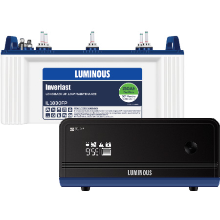Zelio 1100 Home UPS and Luminous IL1830FP