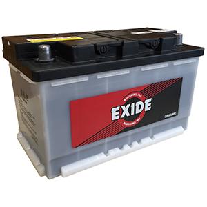 Exide DIN80(MF)