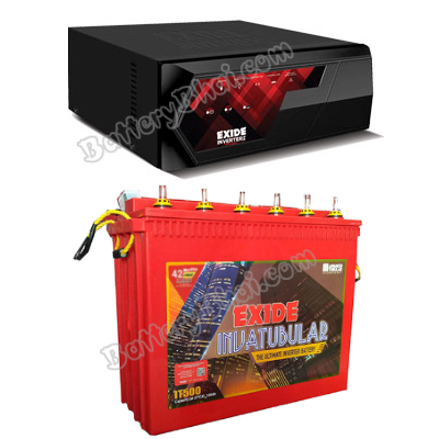 MAGIC 825VA Home UPS and Exide Inva Tubular IT500