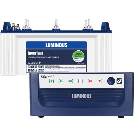 Eco Watt 850 Home UPS and Luminous IL1830FP