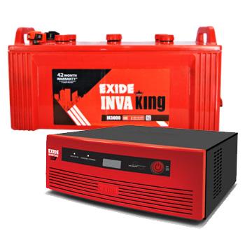 Inverterz GQP 850 and Exide Inva King IK5000