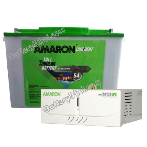 675 Sine Wave UPS and Amaron AAM-CR-AR150TT54