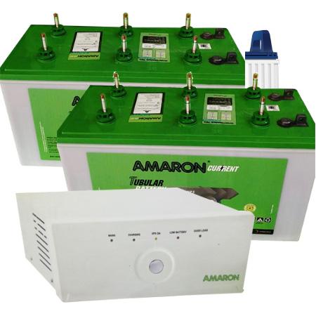 1400 Sine Wave UPS and 2pcs Amaron AAM-CR-AR135ST36