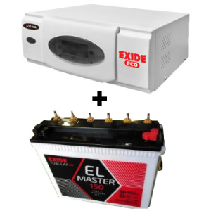 ECO 900VA Home UPS and Exide EL Master 150