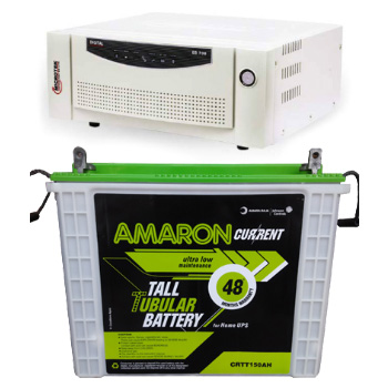 Combo-Microtek EB 900 Home UPS and Amaron AAM-CR-CRTT150