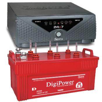 Combo Microtek 24x7 Hybrid 1125 VA Home UPS and DigiPower DP 550