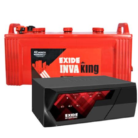 Inverterz Magic 825 Home UPS and Exide Inva King IKST1350